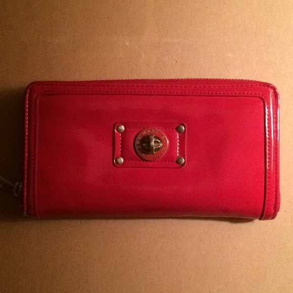 bbc3399dd49 Marc By Marc Jacobs Bags   Red Patent Leather Wallet   Poshmark